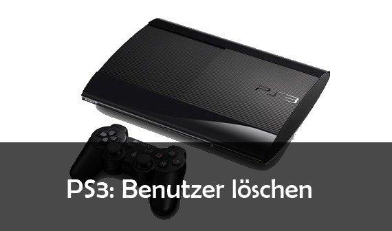 PS3 Benutzer löschen: so geht's