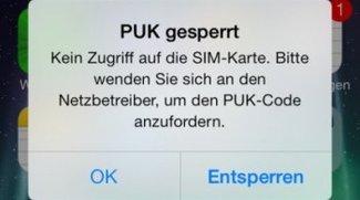 PUK vergessen: Das kann man tun - Hilfe für Vodafone, Telekom, o2 und Co.