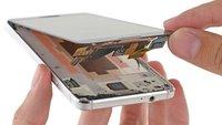Samsung Galaxy Alpha in Einzelteile zerlegt (Teardown)