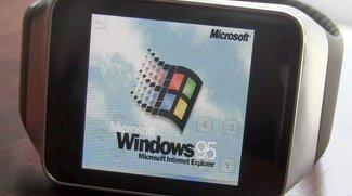 Samsung Gear Live mit Windows 95: 20 Jahre altes OS auf Android Wear-Smartwatch portiert -- Grund unklar