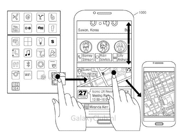 Iconic UX: Samsung-Patent zeigt möglichen TouchWiz-Nachfolger
