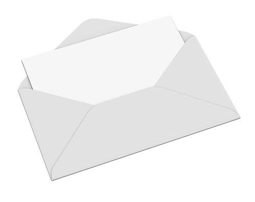 Briefumschlag beschriften und ausdrucken: Vorlage für Post