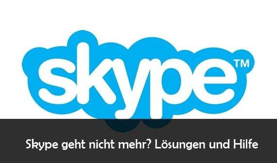 Skype geht nicht: Anmeldung nicht möglich – Probleme aktuell
