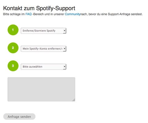 spotify-account-loeschen