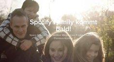 Spotify Family: Account mit mehreren Nutzern teilen und sparen