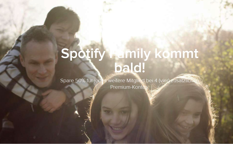 spotify family preis