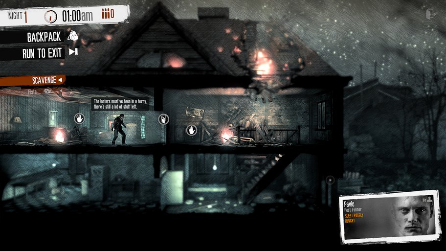 this war of mine raubzug