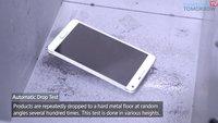 Samsung Galaxy Note 4 Falltest: Stabiler als Cola-Dose