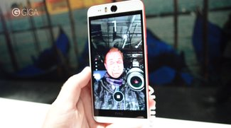 HTC Desire EYE im kurzen Hands-On-Video