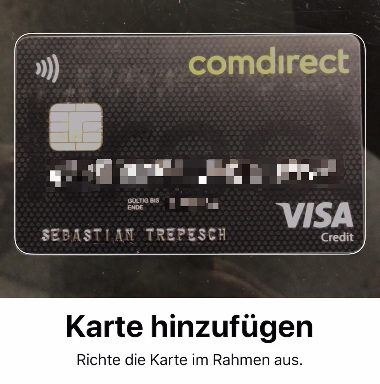 Visa Karte Comdirect.Apple Pay Aktivieren Und Damit Bezahlen So Gehts