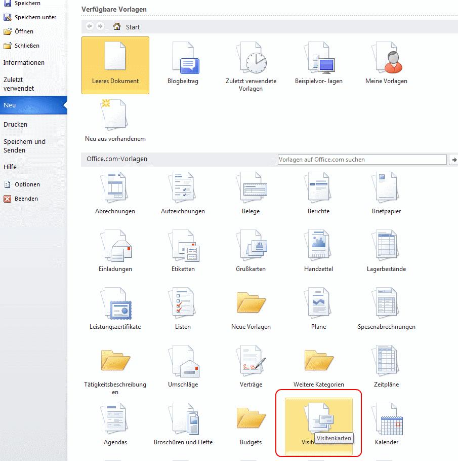 Visitenkarten Erstellen So Geht S Kostenlos Mit Freeware