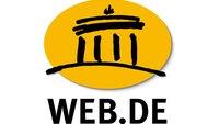 WEB.DE-Konto löschen – so geht's