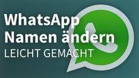 WhatsApp: Namen ändern bei Kontakten und Gruppen