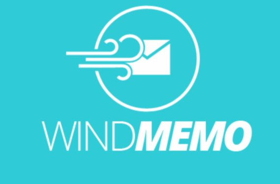Windmemo: selbstzerstörende Nachrichten online verschicken