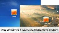 Praxistipp Windows 7: Den Anmeldebildschirm ändern