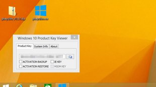 Windows 8: Key auslesen – so geht's