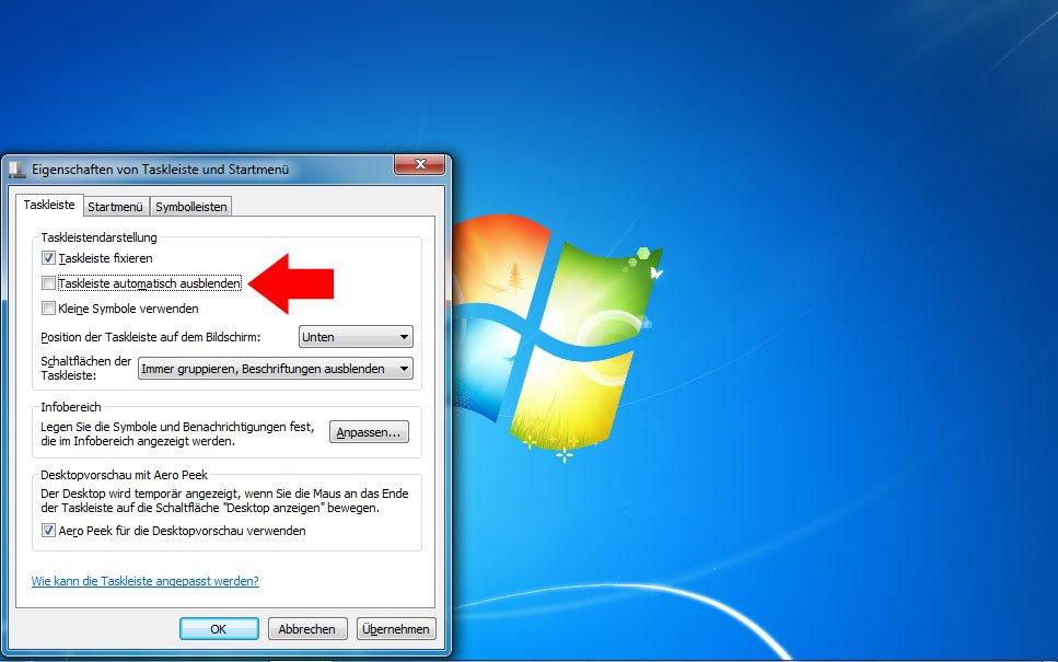 Windows 10 Taskleiste Geht Nicht Weg