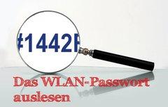 WLAN Passwort auslesen:...