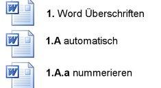 Word: Überschriften automatisch nummerieren - so geht's