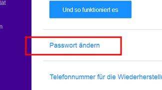 Yahoo: Passwort ändern – so geht's