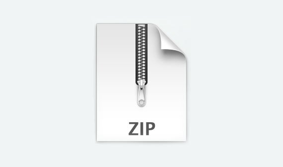 software zip datei: