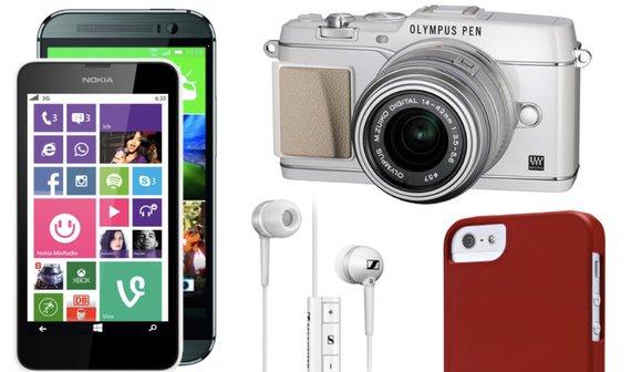 Amazon Blitzdeals: Nokia Lumia-Modelle, HTC One (M8), iPhone-Zübehor, Galaxy-Headsets und mehr