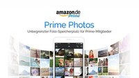 Amazon: Prime-Mitglieder erhalten unbegrenzten Cloud-Speicherplatz für Fotos