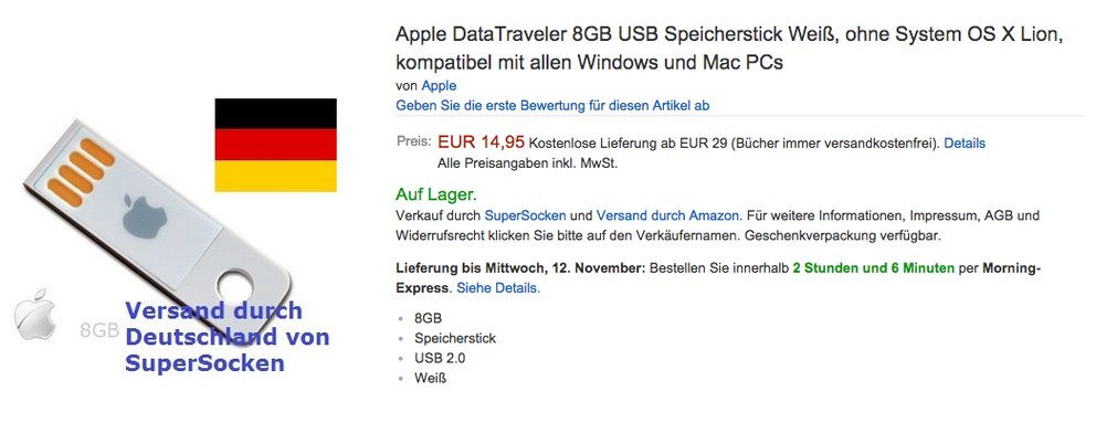 apple usb stick amazon