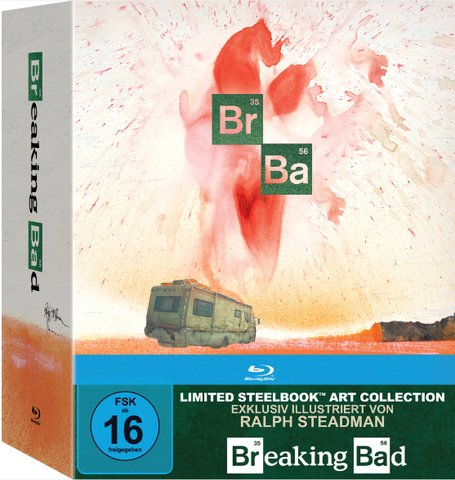 Breaking Bad Limited Steel Book Edition