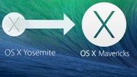 Downgrade von OS X Yosemite zu OS X Mavericks in vier Schritten