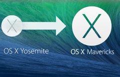 Downgrade von OS X Yosemite zu...