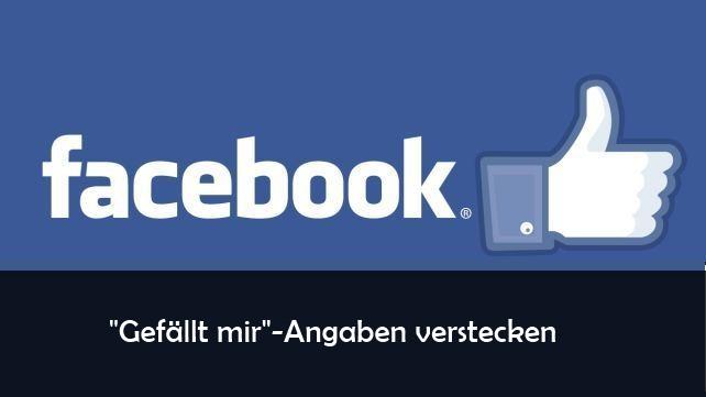 Facebook gefällt mir angaben bilder verbergen