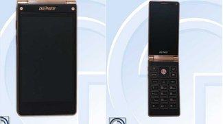 Gionee W900: Aufklappbares Smartphone mit zwei 4-Zoll-Full HD-Displays geleakt