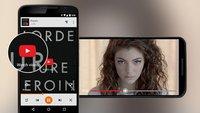 Play Music für Android: Anzeige von YouTube-Videos teilweise freigeschaltet