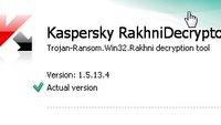 Kaspersky RakhniDecryptor