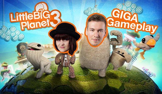 GIGA Gameplay: Little Big Planet 3 - Voll auf'n Sack... boy!