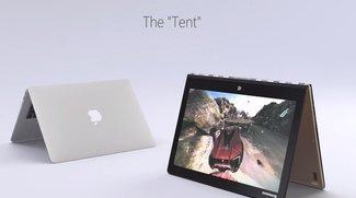 Microsoft-Werbung vergleicht MacBook Air mit Lenovo-Laptop