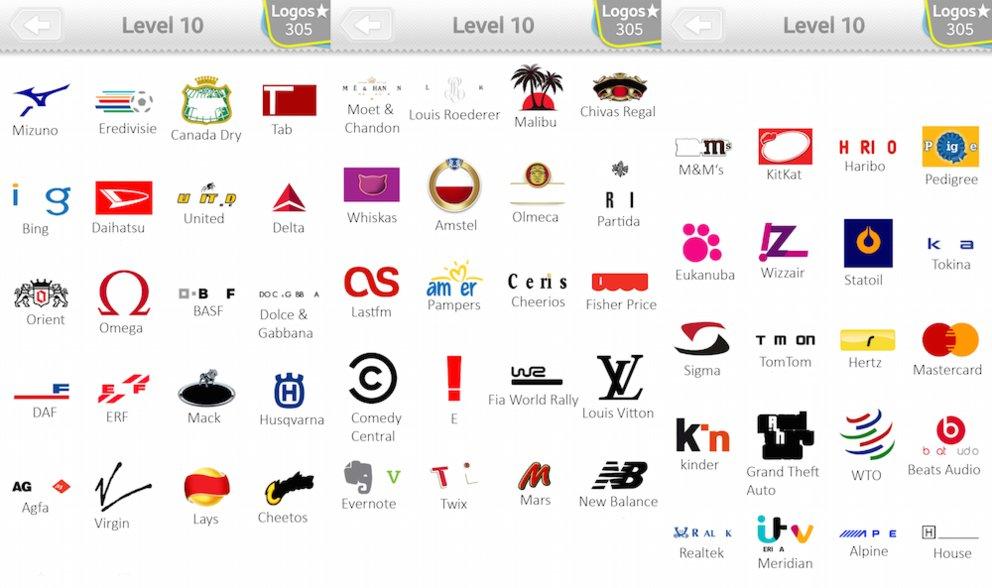 Logo quiz l 246 sungen level 10 giga