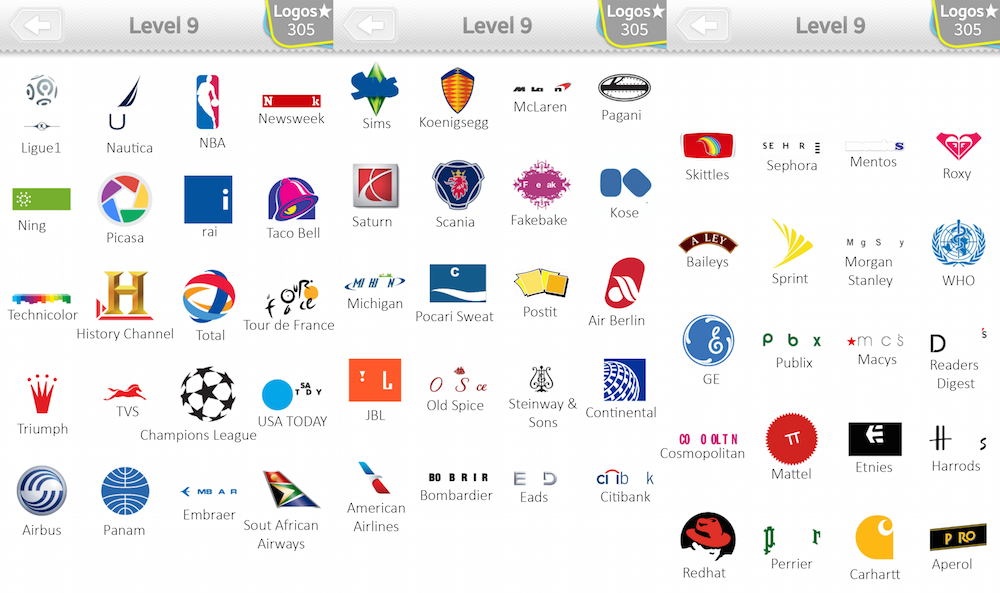 logo quiz l246sungen level 9 giga