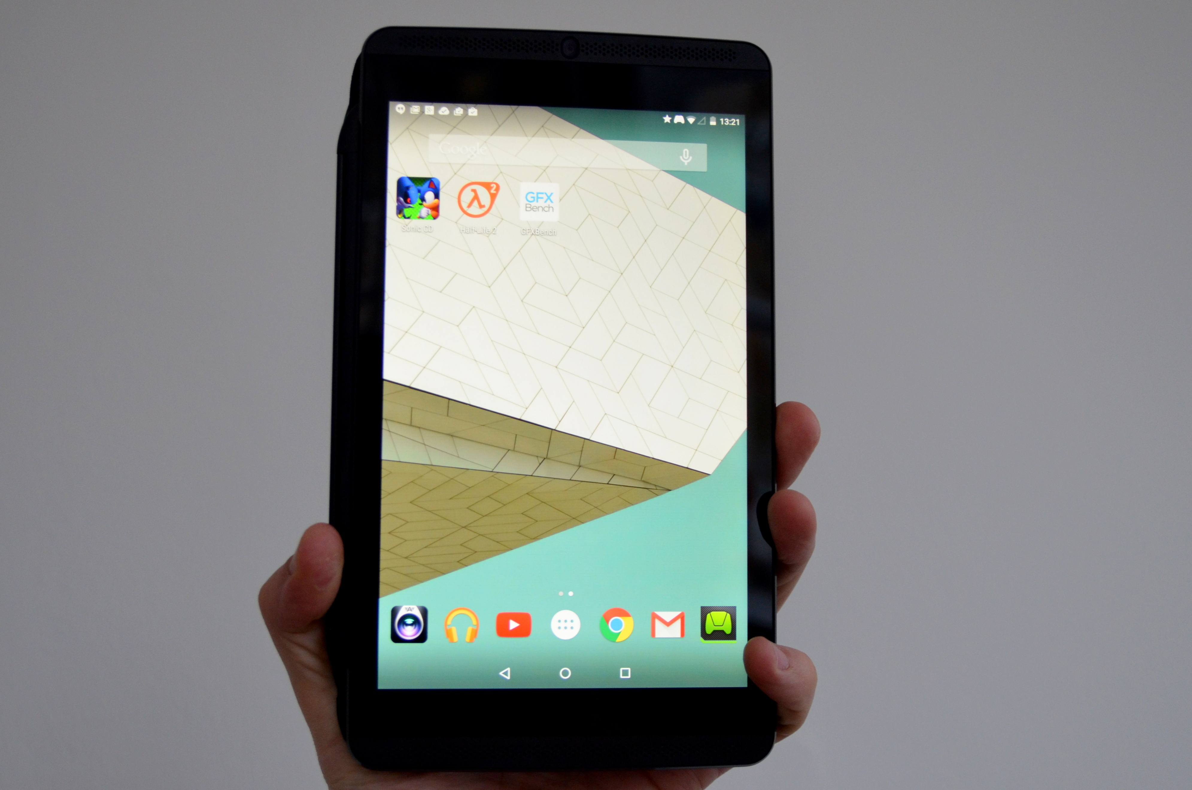 NVIDIA Shield Tablet: Android 5.0 Lollipop-Update wird verteilt ...