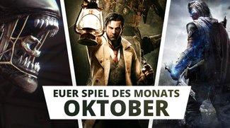 Oktober-Highlights: Wählt euren Favoriten zum Spiel des Monats! (Umfrage)