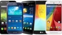 Top 5: Die besten Android-Smartphones (2014) für unter 200 Euro
