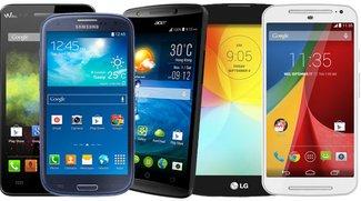 Kauftipps: Die 5 besten Android-Smartphones unter 200 Euro