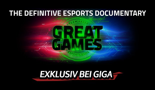 E-Sport-Dokumentation: Team Razer: Great Games - bald exklusiv bei GIGA! (Trailer)