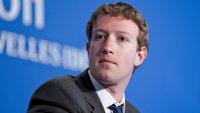 Facebook-Chef erklärt Abspaltung der Messenger-App