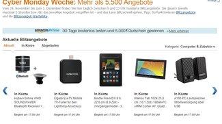 Amazon Cyber Monday: Die besten Technik-Deals am Schnäppchen-Montag