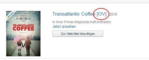 Amazon Prime Tonspur