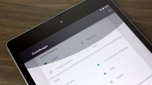 Android 5.0 Lollipop: Material Design-Animationen auf dem Nexus 9 in der Nahaufnahme [Video]