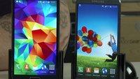 Samsung Galaxy S5 vs. Galaxy S4: Android 5.0 Lollipop mit TouchWiz im Video-Vergleich