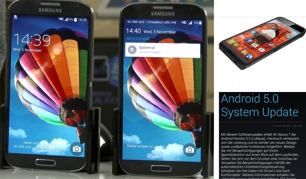 Android-Charts: Die androidnext-Top 5+5 der Woche (KW 46/2014)